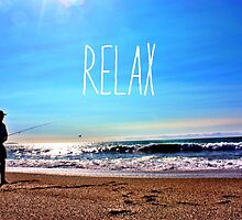 Relax by irishkiwipcards