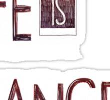 Life is Strange Logo 2 Sticker