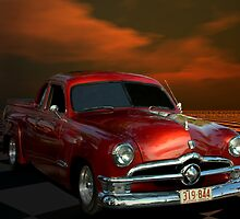 1950 Ford Ute Australian Right Hand Drive Pickup by TeeMack