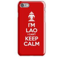 I'm Lao I Can't Keep Calm iPhone Case/Skin