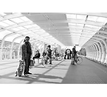 Metrostation - 'Wait - Stay' Photographic Print