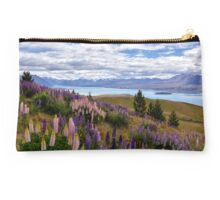 The Hills Are Alive with the Colours of Lupins Studio Pouch