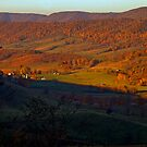 Fall.. The Blue Ridge Mountains... by Larry Llewellyn