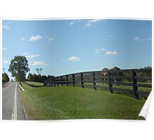 Country Road in the Berkshires Poster