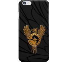 HWA RANG PHOENIX - GOLDEN iPhone Case/Skin