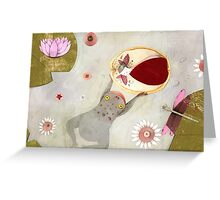 Thumbelina II Greeting Card