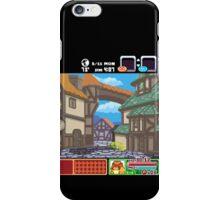 Town View - Cute Monsters RPG - Pixel Art iPhone Case/Skin