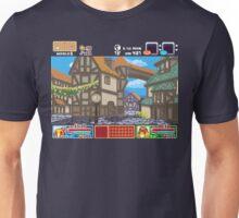 Town View - Cute Monsters RPG - Pixel Art Unisex T-Shirt