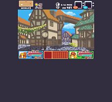 Town View - Cute Monsters RPG - Pixel Art Unisex T-Shirt