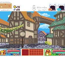 Town View - Cute Monsters RPG - Pixel Art by zlybratblizniak