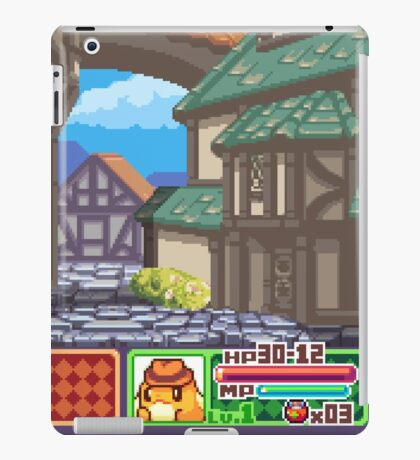 Town View - Cute Monsters RPG - Pixel Art iPad Case/Skin