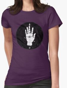 Future (Eye) On Palm Womens Fitted T-Shirt