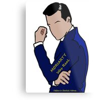 Moriarty Was Real... Metal Print