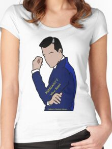 Moriarty Was Real... Women's Fitted Scoop T-Shirt