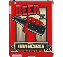 Not Invincible! iPad Case/Skin