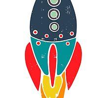 Space Rocket by TashaNatasha