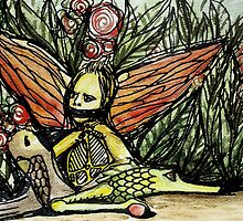 IN THE JUNGLE WITH FRIENDS by Art by Danka