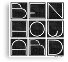 Ben Howard Canvas Print
