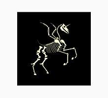 unicorn skeleton running Unisex T-Shirt