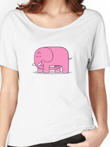 Elephellatio PINK Women's Relaxed Fit T-Shirt