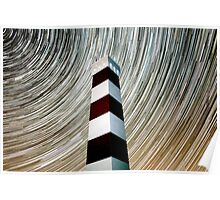 Star Trails & Tower Poster