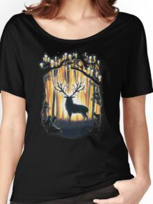Deer God Master of the Forest Women's Relaxed Fit T-Shirt