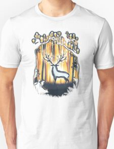 Deer God Master of the Forest Unisex T-Shirt