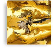 LIKE A WIND- wall art+Clothing &  + Products Design  Canvas Print