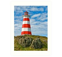 Brier Island (West) Lighthouse Art Print