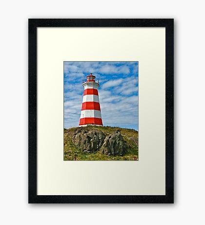Brier Island (West) Lighthouse Framed Print