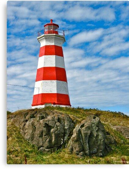 Brier Island (West) Lighthouse by David Davies