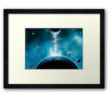 Corona Planet Framed Print