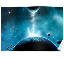 Corona Planet Poster