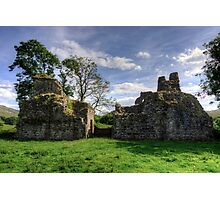 Pendragon Castle, Cumbria Photographic Print