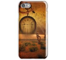 Time expired iPhone Case/Skin
