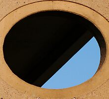 Parkade Porthole by JCBimages
