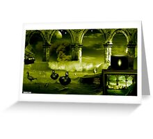 Watch it on TV Greeting Card
