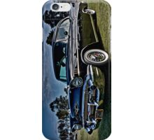 Black 1957 Chevrolet Belair Coupe iPhone Case/Skin