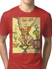 gene e + Tri-blend T-Shirt