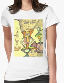 gene e + Womens Fitted T-Shirt