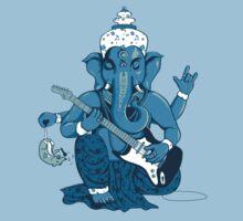 Ganesha rocks ! Kids Tee