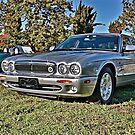 Silver Jaguar XJ Saloon by Ferenghi
