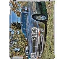 Silver Jaguar XJ Saloon iPad Case/Skin