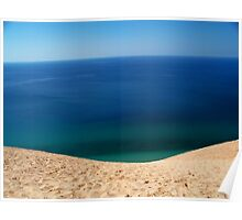 Dunes and Lake Michigan.. pure beauty Poster