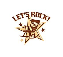Let's Rock! Photographic Print