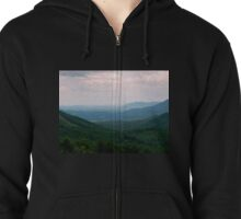 Virginia Countryside - 2     ^ Zipped Hoodie