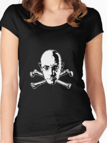 michel foucault Women's Fitted Scoop T-Shirt