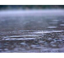 Raindrops in the Mist Photographic Print