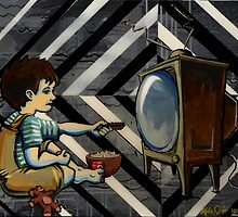 TV Zombie by mike-john