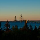 Mackinac Bridge 100410 by Theodore Black